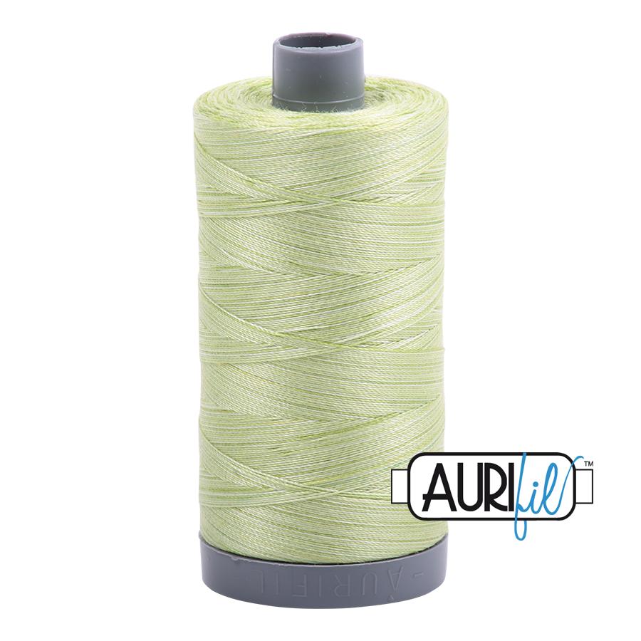 Col. #3320 Light Spring Green - Aurifil 28 Weight