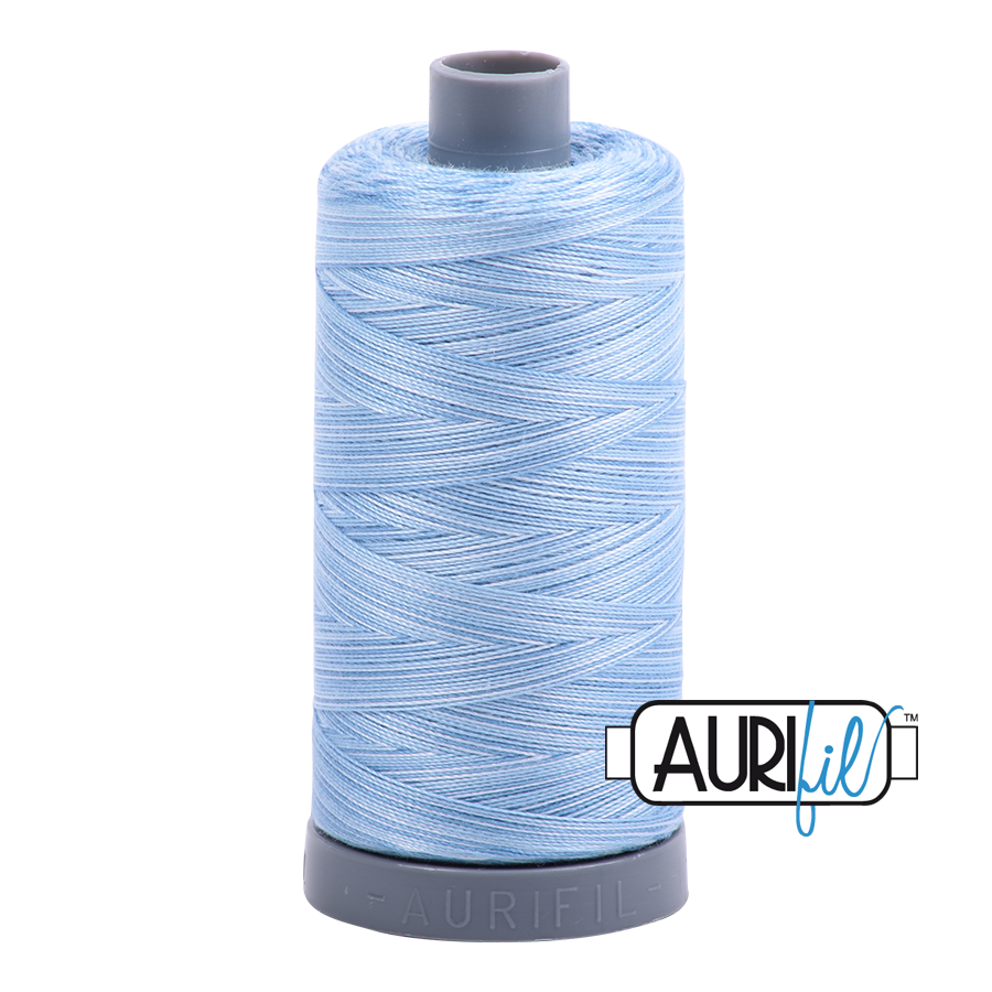 Col. #3770 Stone Washed Denim - Aurifil 28 Weight