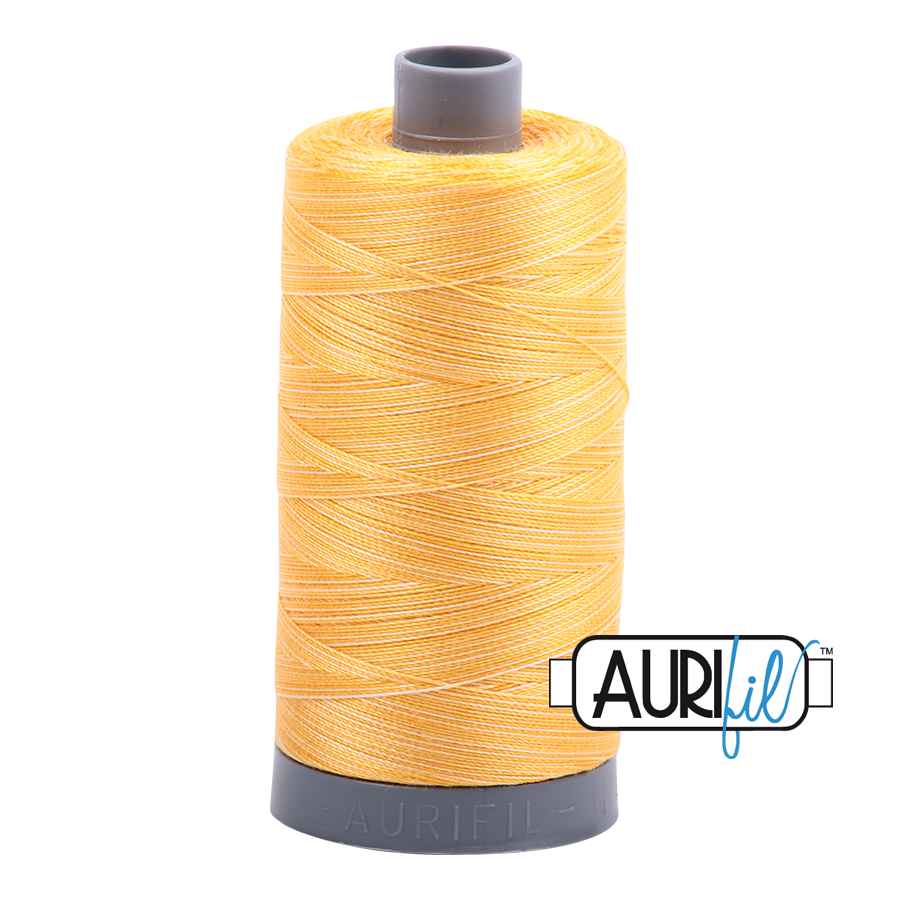 Col. #3920 Golden Glow - Aurifil 28 Weight