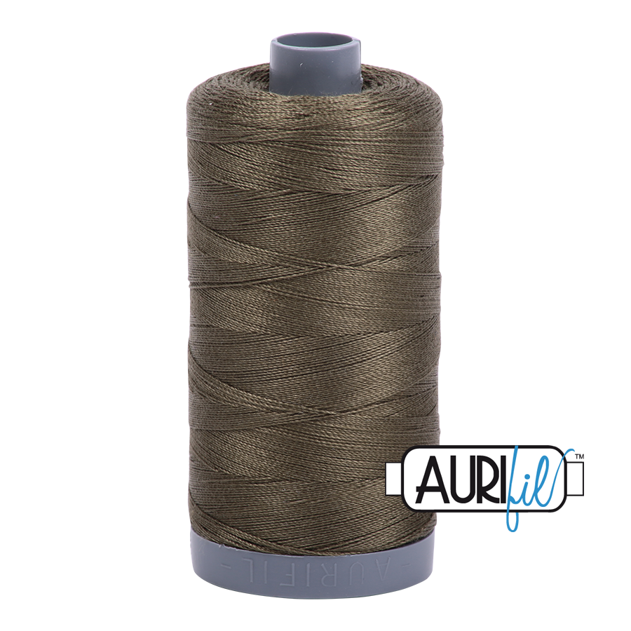 Col. #2905 Army Green - Aurifil 28 Weight