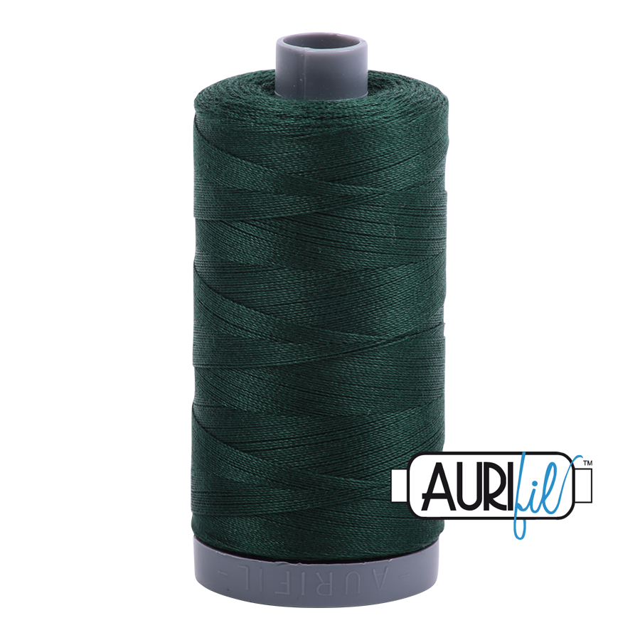 Col. #4026 Forest Green - Aurifil 28 Weight