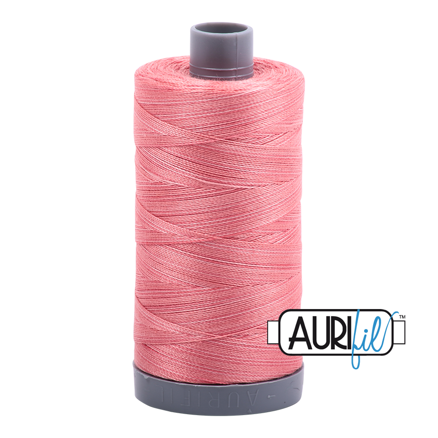 Col. #4250 Flamingo - Aurifil 28 Weight