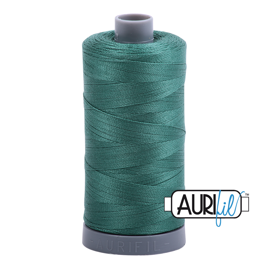 Col. #4129 Turf Green - Aurifil 28 Weight