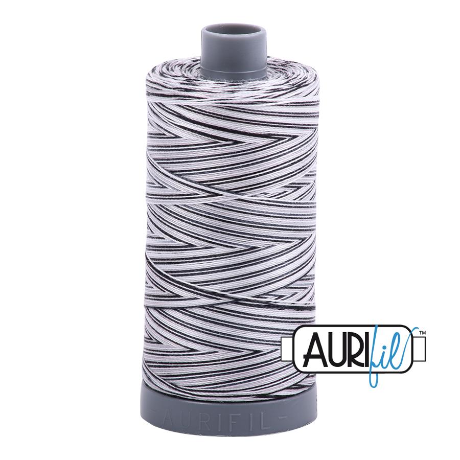 Col. #4652 Licorice Twist - Aurifil 28 Weight