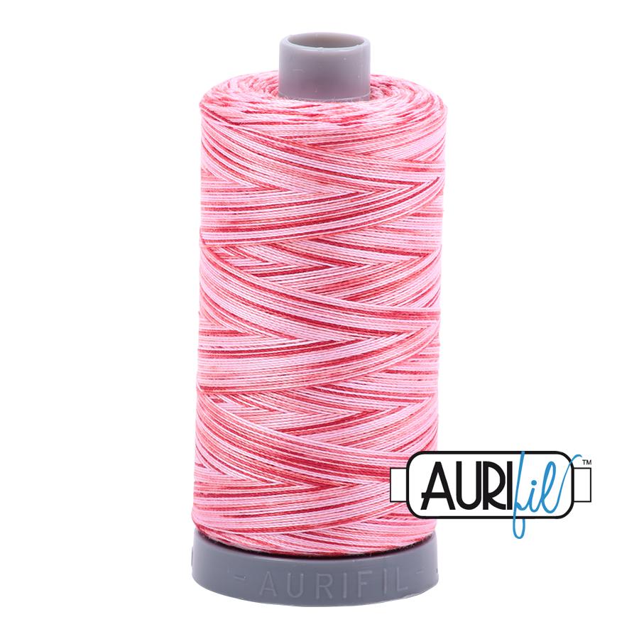 Col. #4668 Strawberry Parfait - Aurifil 28 Weight