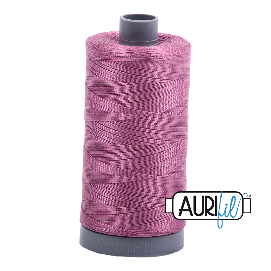 Col. #5003 Wine - Aurifil 28 Weight