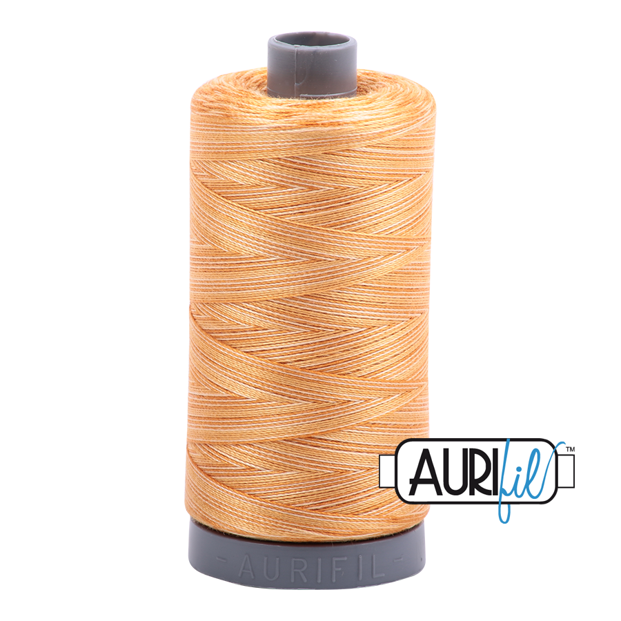 Col. #4150 Creme Brule - Aurifil 28 Weight