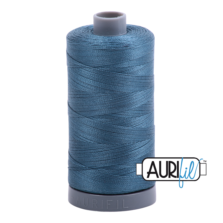 Col. #4644 Smoke Blue - Aurifil 28 Weight