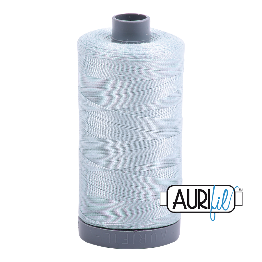 Col. #5007 Light Grey Blue - Aurifil 28 Weight
