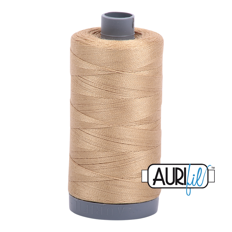 Col. #5010 Blond Beige - Aurifil 28 Weight