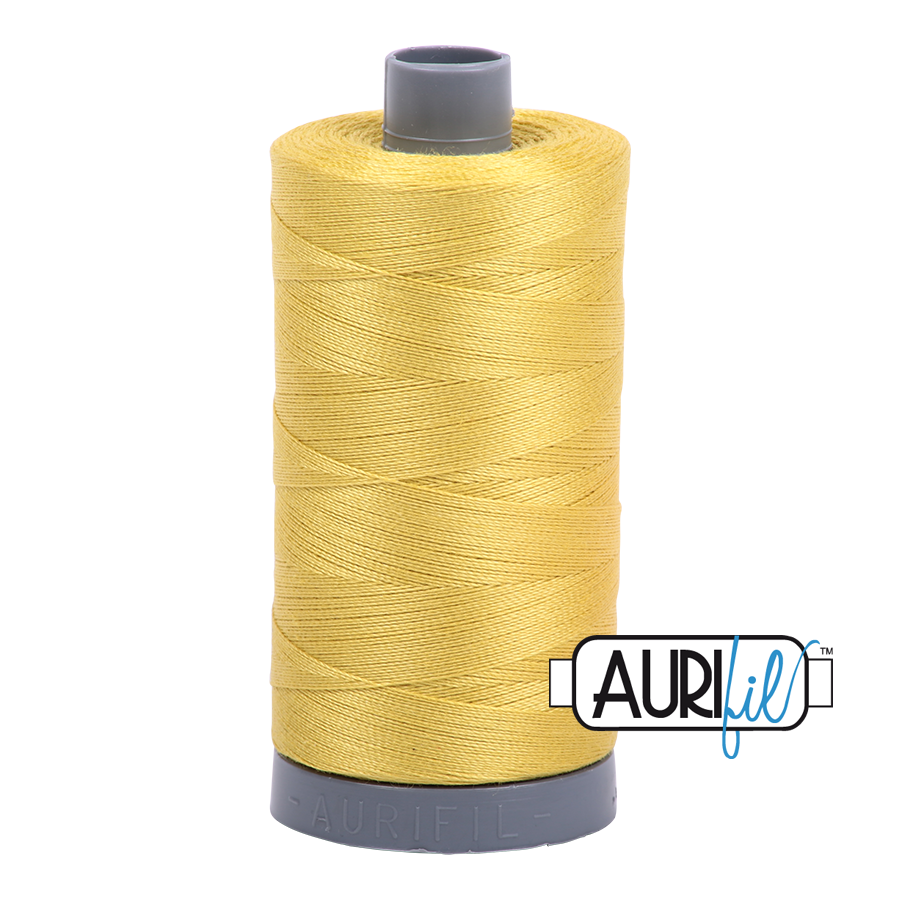 Col. #5015 Gold Yellow - Aurifil 28 Weight