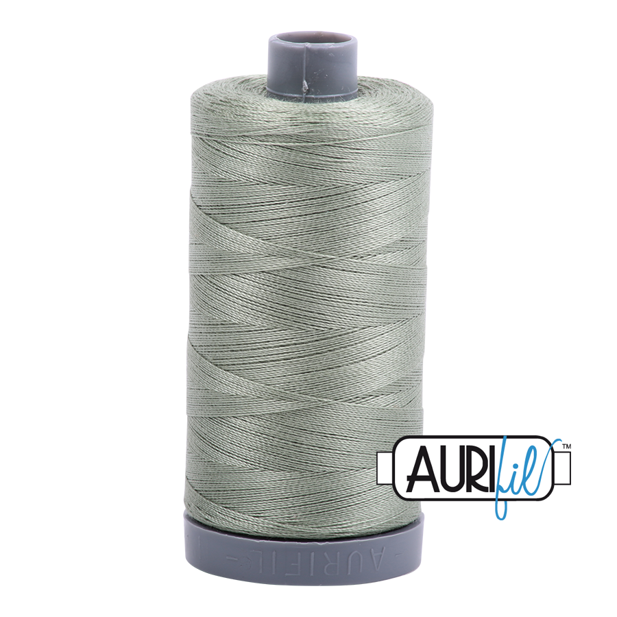 Col. #5019 Military Green - Aurifil 28 Weight