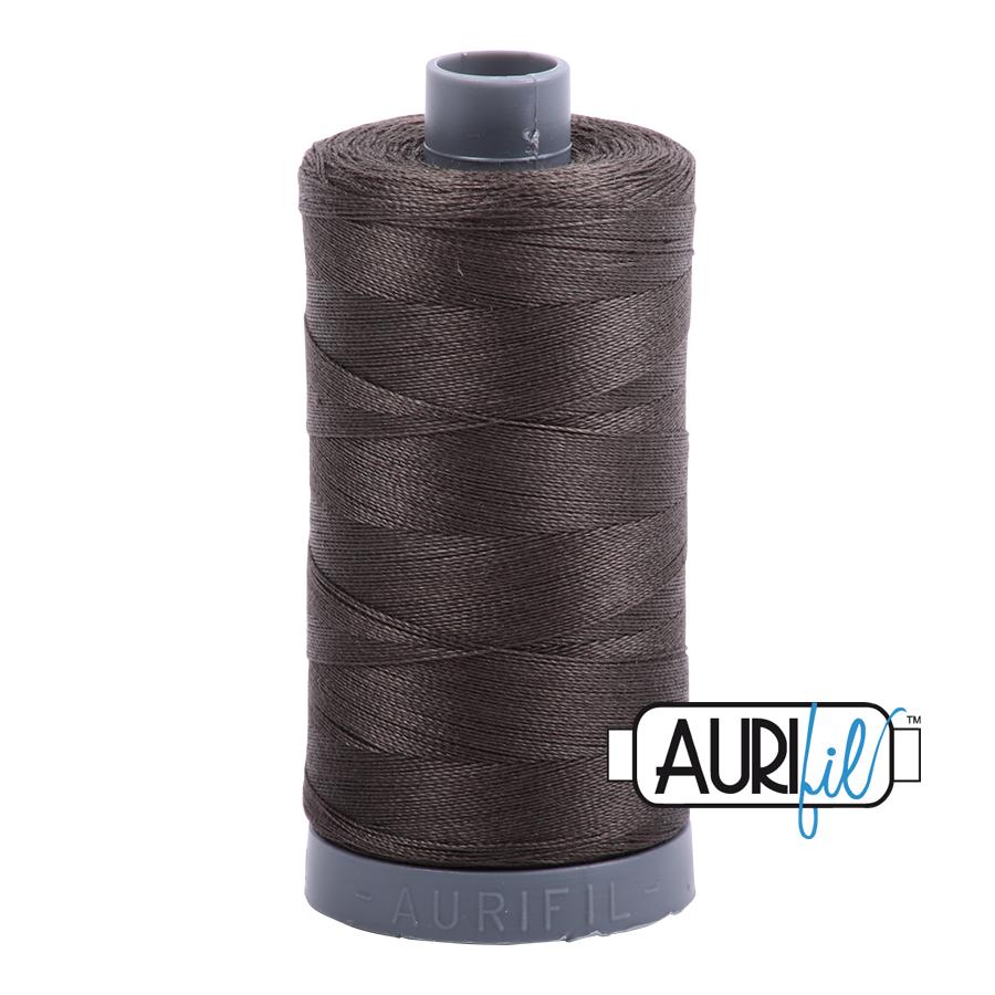 Col. #5013 Asphalt - Aurifil 28 Weight