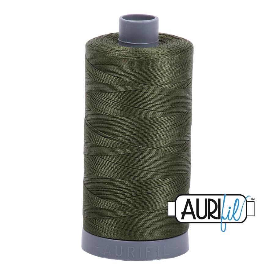Col. #5023 Medium Green - Aurifil 28 Weight