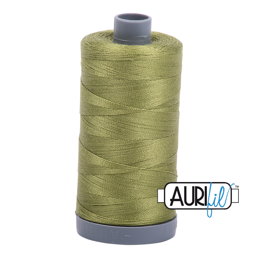Col. #5016 Olive Green - Aurifil 28 Weight