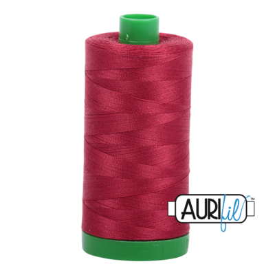 Col. #1103 Burgundy - Aurifil 40 Weight