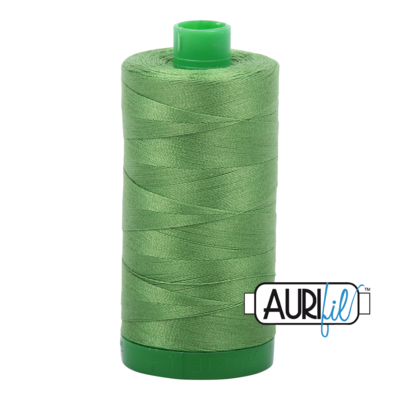 Col. #1114 Grass Green - Aurifil 40 Weight