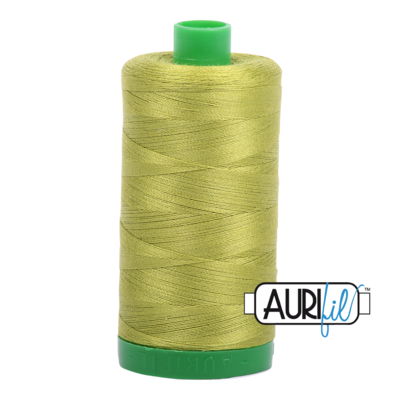 Col. #1147 Light Leaf Green - Aurifil 40 Weight