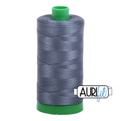 Col. #1158 Medium Grey - Aurifil 40 Weight