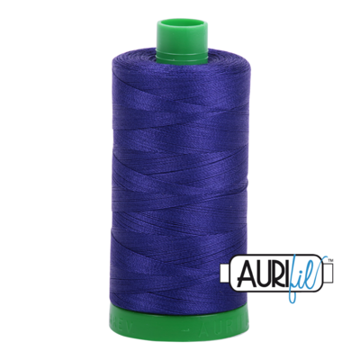 Col. #1200 Blue Violet - Aurifil 40 Weight