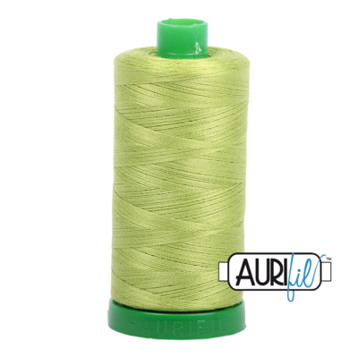 Col. #1231 Spring Green - Aurifil 40 Weight