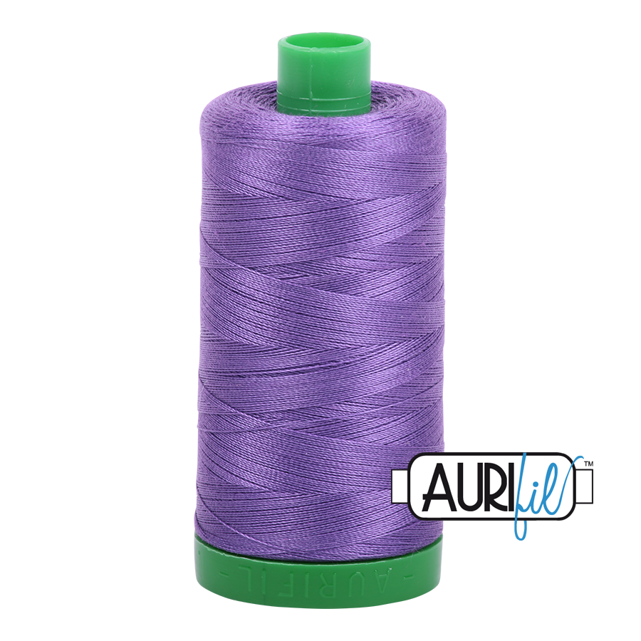Col. #1243 Dusty Lavender - Aurifil 40 Weight