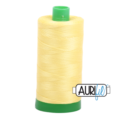 Col. #2115 Lemon - Aurifil 40 Weight