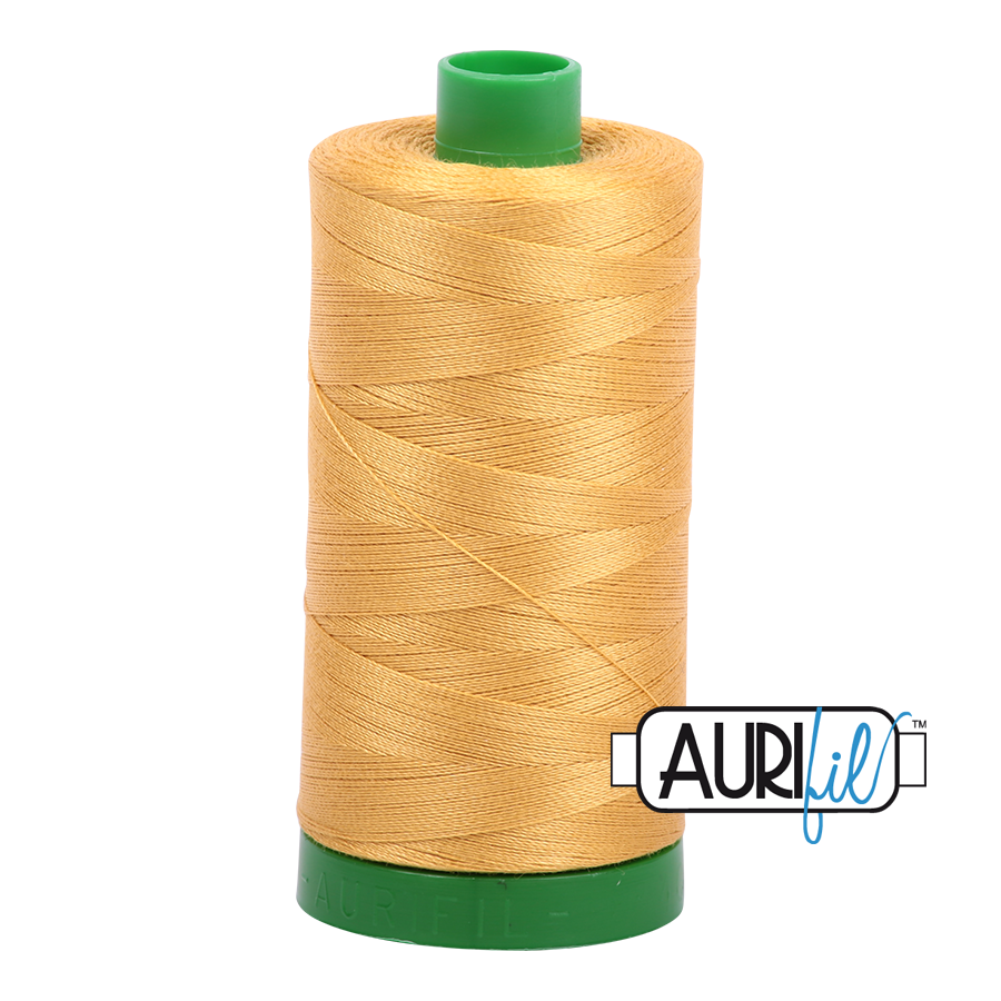 Col. #2132 Tarnished Gold - Aurifil 40 Weight