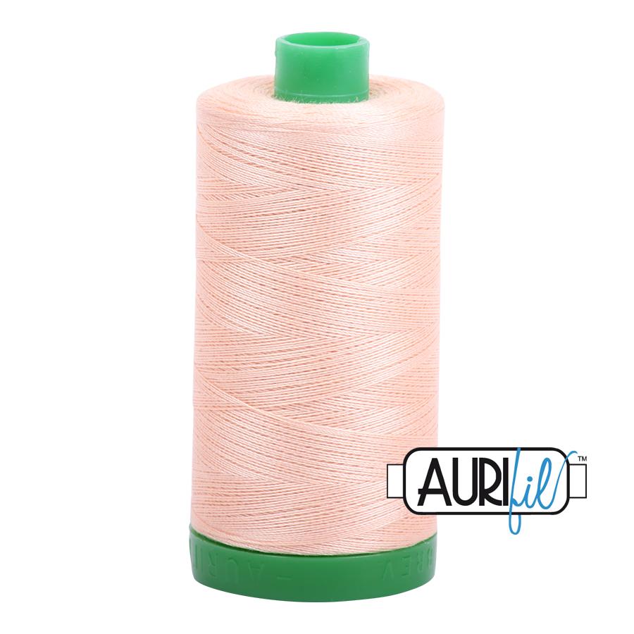 Col. #2205 Apricot - Aurifil 40 Weight