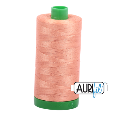 Col. #2215 Peach - Aurifil 40 Weight