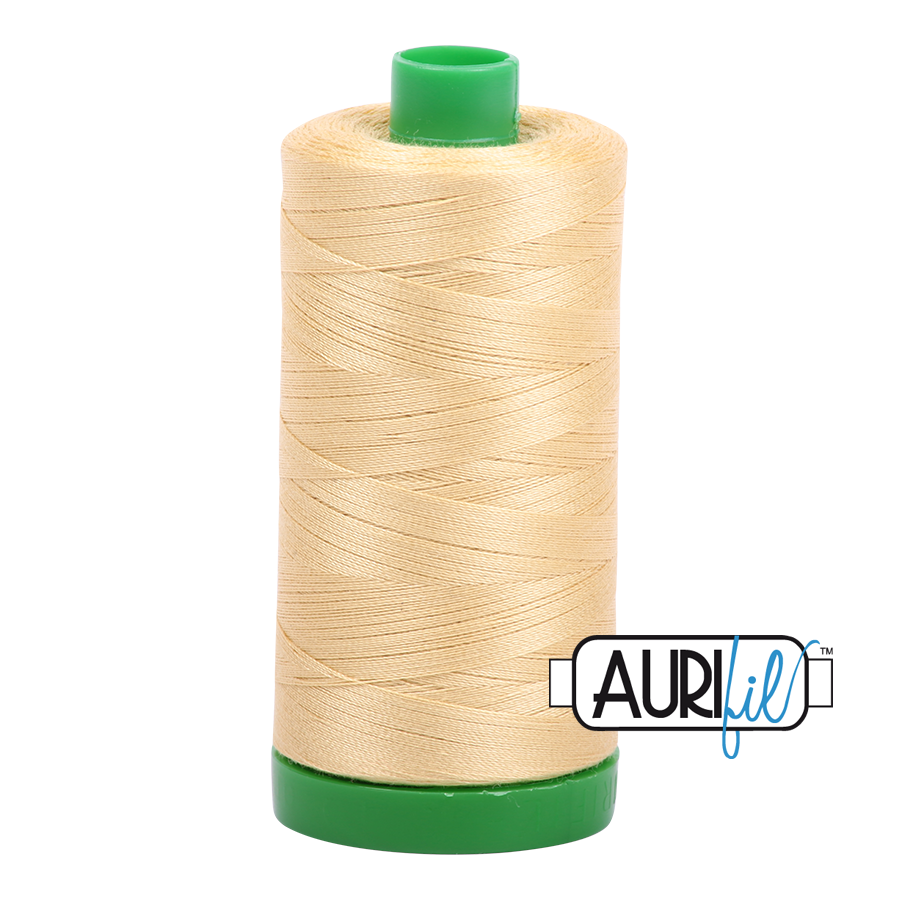 Col. #2125 Wheat - Aurifil 40 Weight