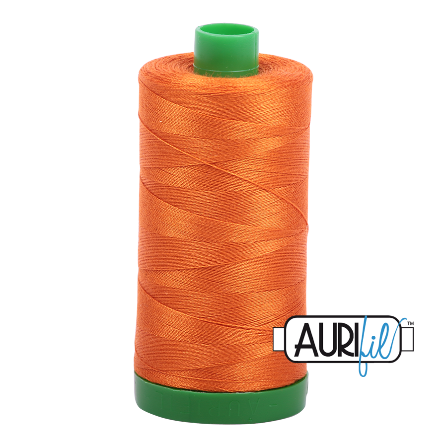 Col. #2150 Pumpkin - Aurifil 40 Weight