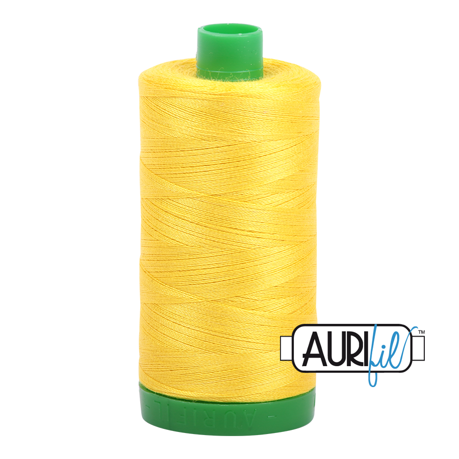 Col. #2120 Canary - Aurifil 40 Weight