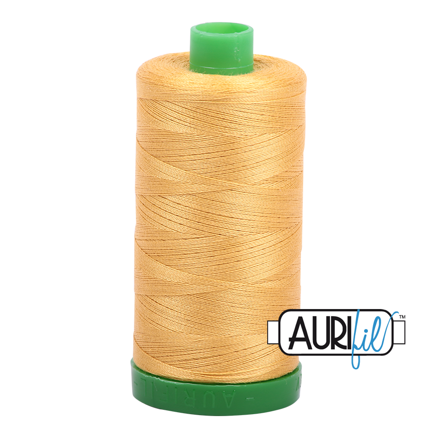 Col. #2134 Spun Gold - Aurifil 40 Weight