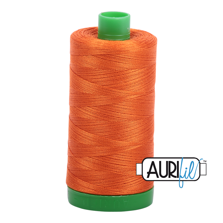 Col. #2235 Orange - Aurifil 40 Weight