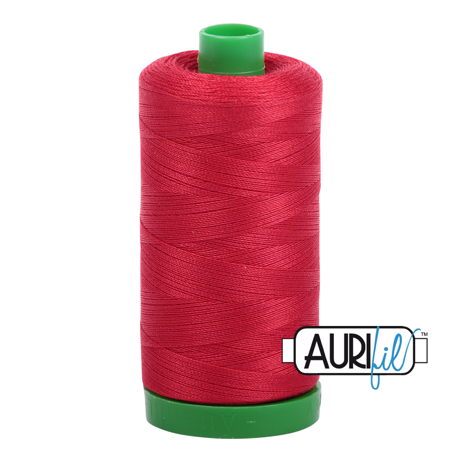 Col. #2250 Red - Aurifil 40 Weight