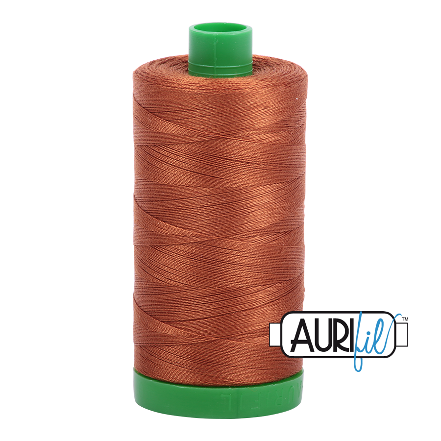 Col. #2155 Cinnamon - Aurifil 40 Weight