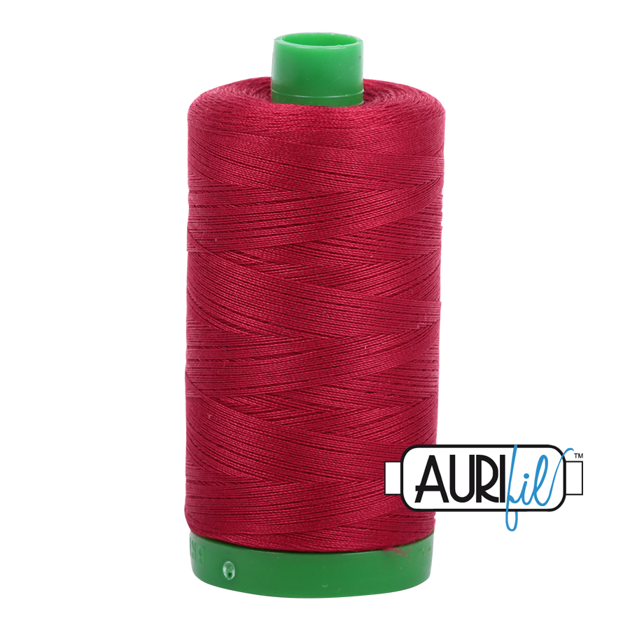 Col. #2260 Red Wine - Aurifil 40 Weight