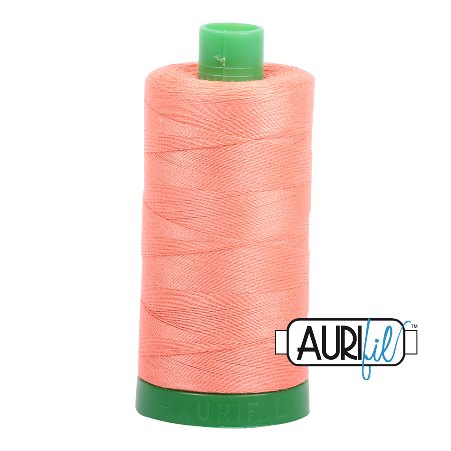 Col. #2220 Light Salmon - Aurifil 40 Weight