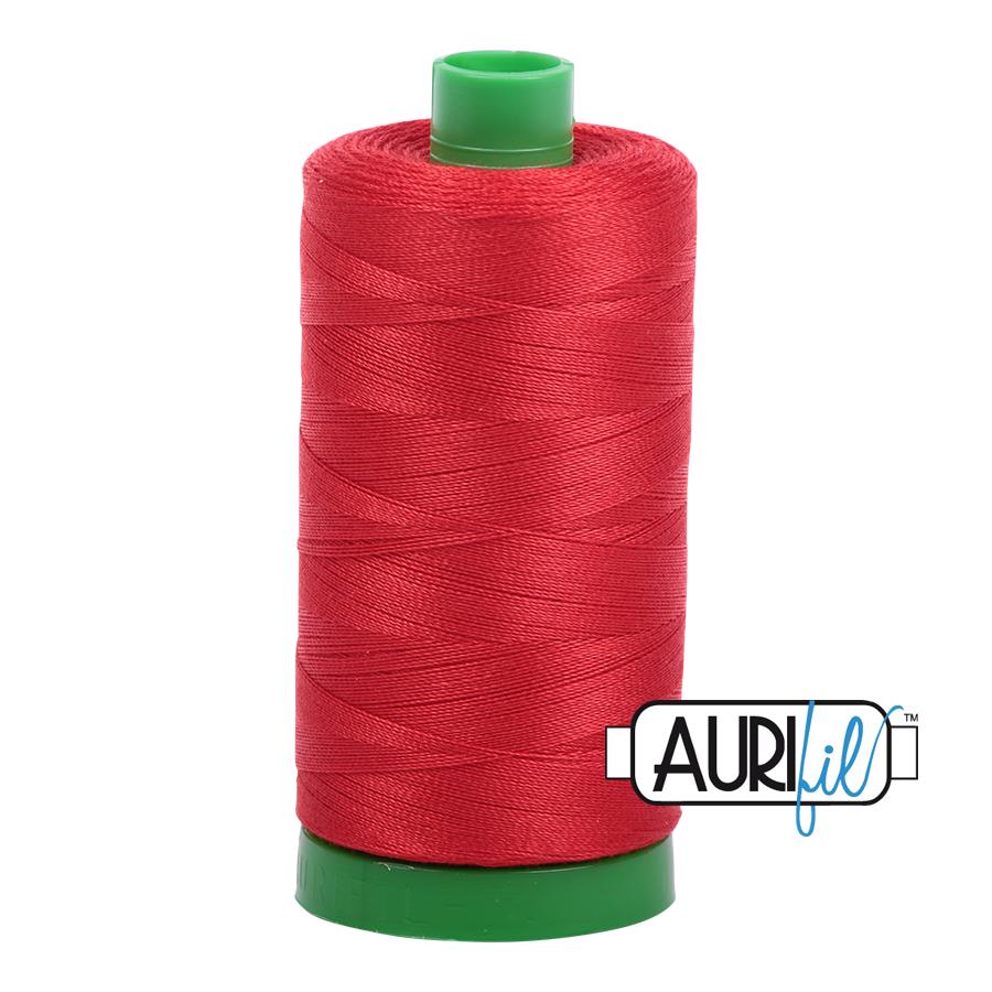 Col. #2270 Paprika - Aurifil 40 Weight