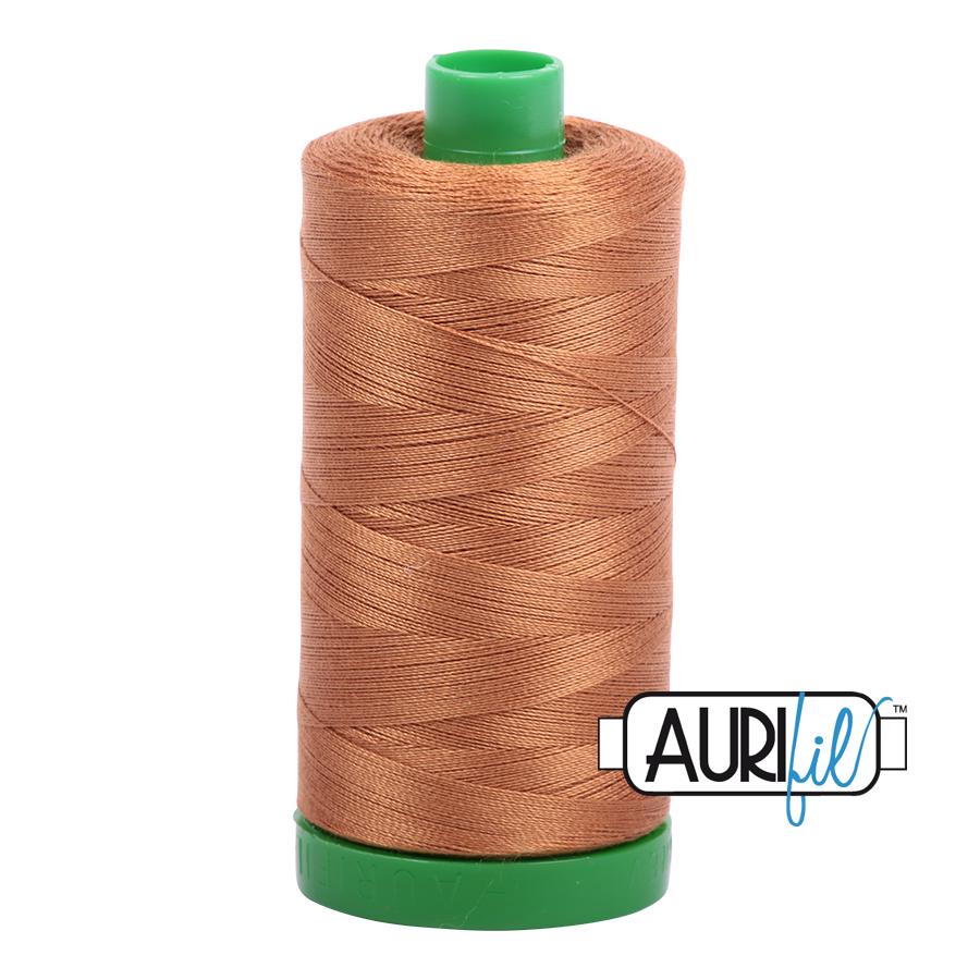 Col. #2335 Light Cinnamon - Aurifil 40 Weight
