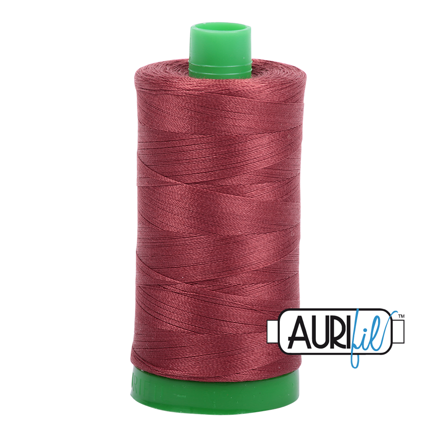 Col. #2345 Raisin - Aurifil 40 Weight