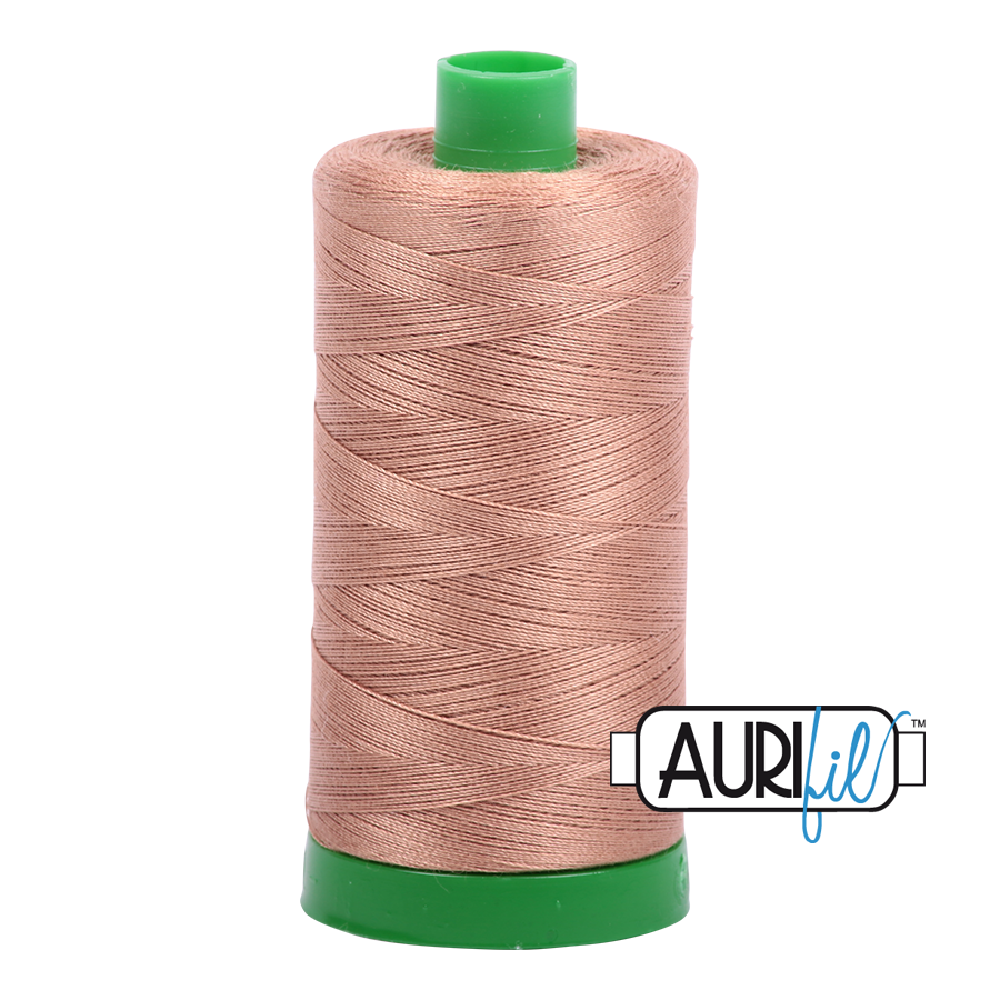 Col. #2340 Cafe' au Lait - Aurifil 40 Weight