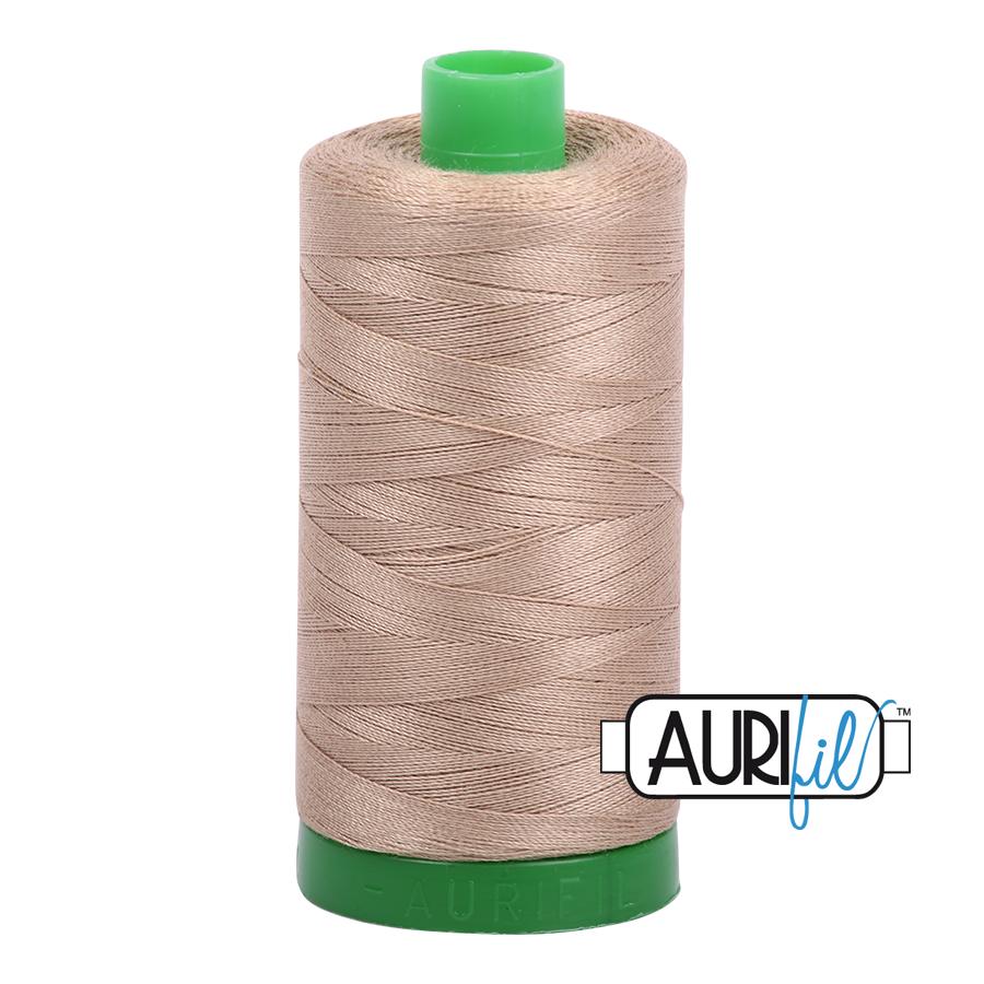 Col. #2325 Linen - Aurifil 40 Weight