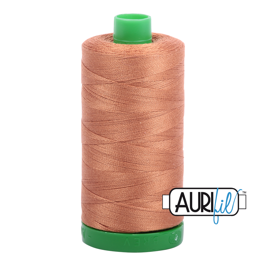 Col. #2330 Light Chestnut - Aurifil 40 Weight