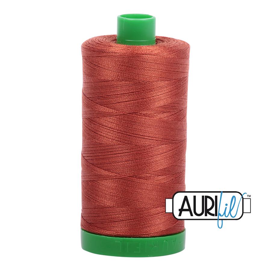Col. #2350 Copper - Aurifil 40 Weight