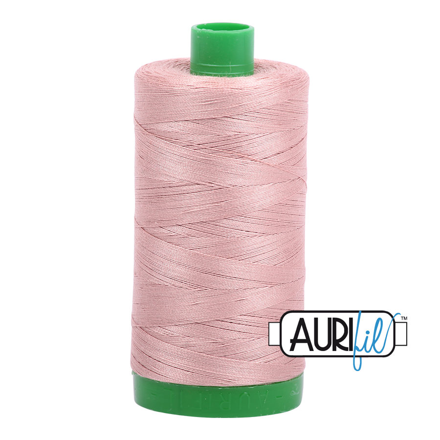 Col. #2375 Antique Blush - Aurifil 40 Weight