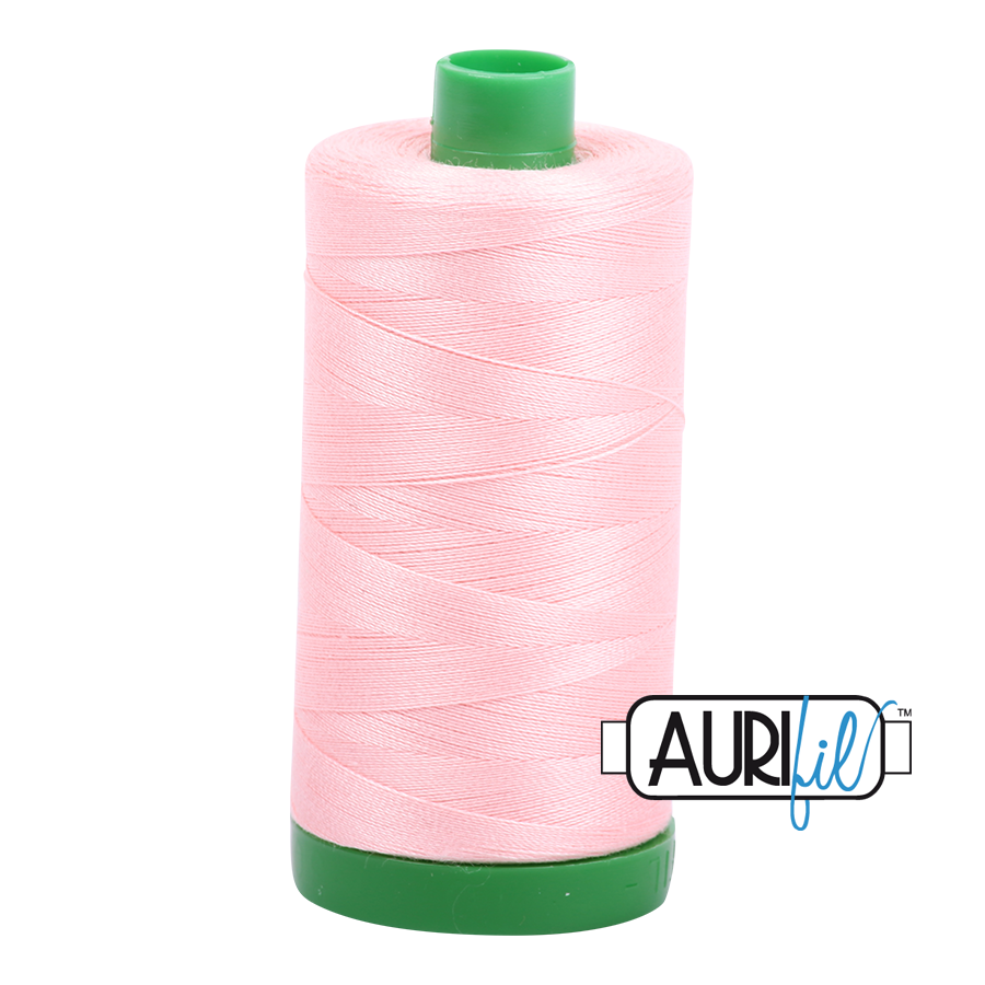 Col. #2415 Blush - Aurifil 40 Weight