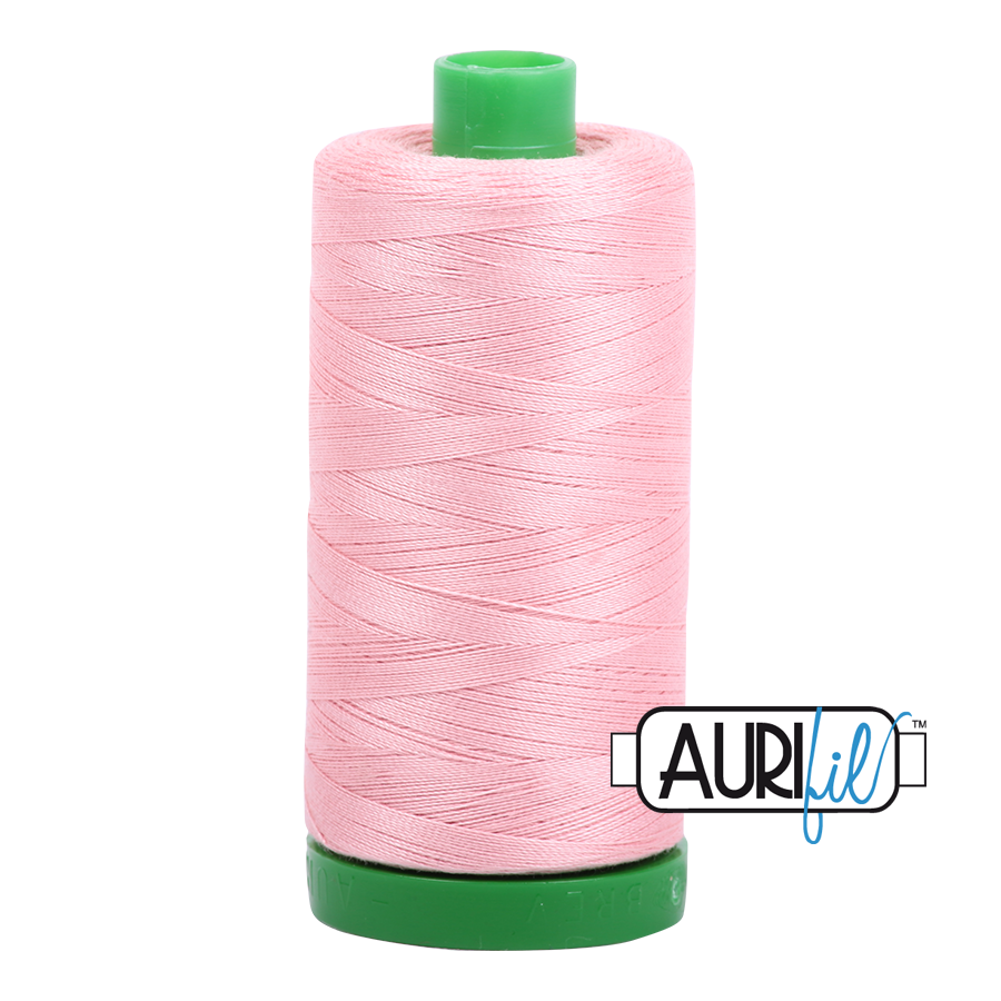 Col. #2437 Light Peony - Aurifil 40 Weight