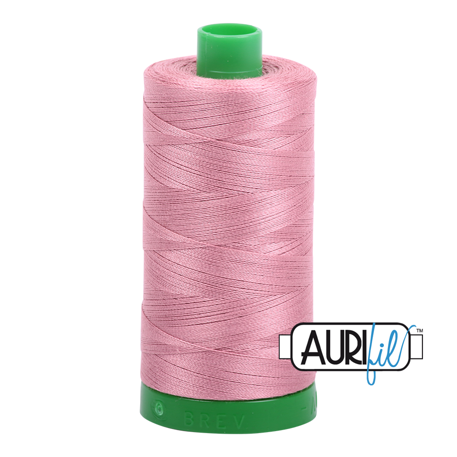 Col. #2445 Victorian Rose - Aurifil 40 Weight